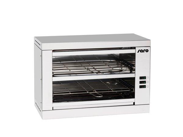 Saro Toaster 2 Niveaux | 1,6 kW | 490x250x(H)560mm