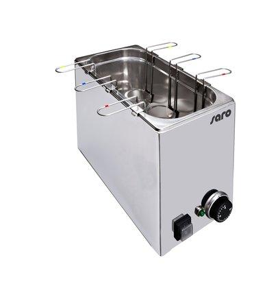 Saro Cuiseur à oeufs Convient pour 6 oeufs 1,2 kW | 290x340x (H) 330mm