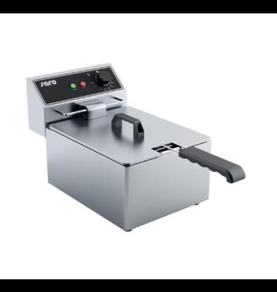 Saro Friteuse électrique 6 Litres | 2x 3,25 kW | 290x440x(H)290mm