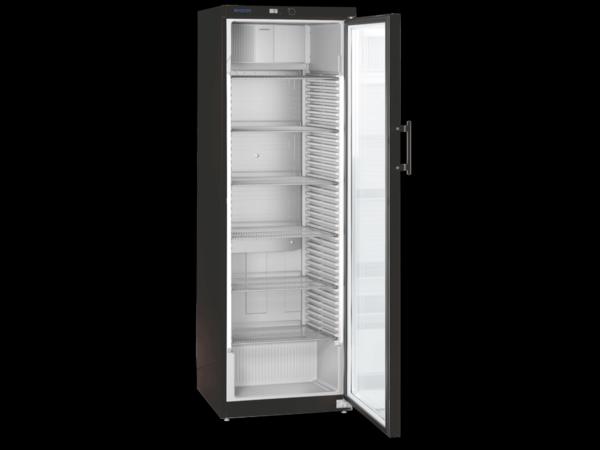 Liebherr Vitrine Réfrigérée | Noir  | Porte en verre | 388 litres | 600x610x (H)1800mm