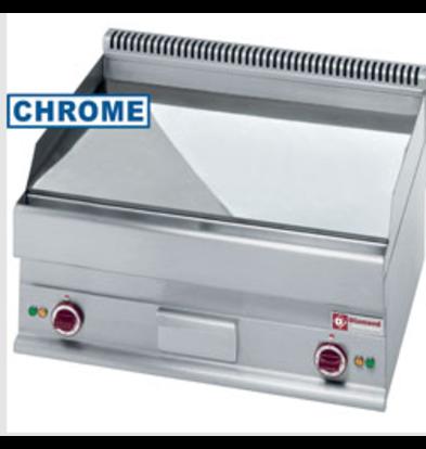 Diamond Plaque de Cuisson Electrique | lisse -Top- chrome dur  | 700x650xh280/380mm