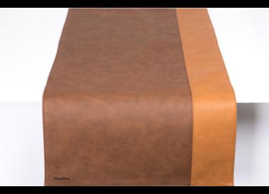 Chemin de table en cuir