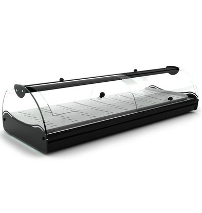 SAYL Vitrine Chauffante Libre Service | Convient pour GN 1/3 40mm | Eclairage LED | Disponible en 2 Tailles