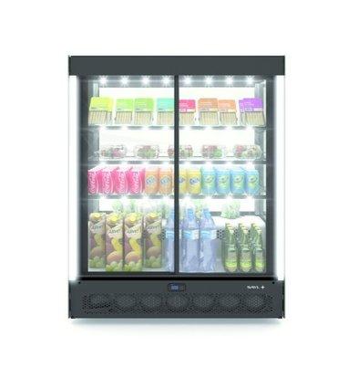 SAYL Vitrine Réfrigérée de Présentation | Ouverture à l'Avant | 1015x620x(H)1240mm