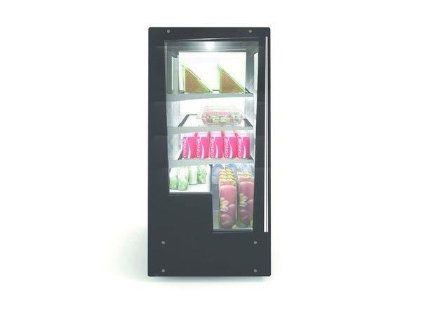 SAYL Vitrine Réfrigérée de Présentation | Ouverture Avant et Arrière | 1015x620x(H)1240mm
