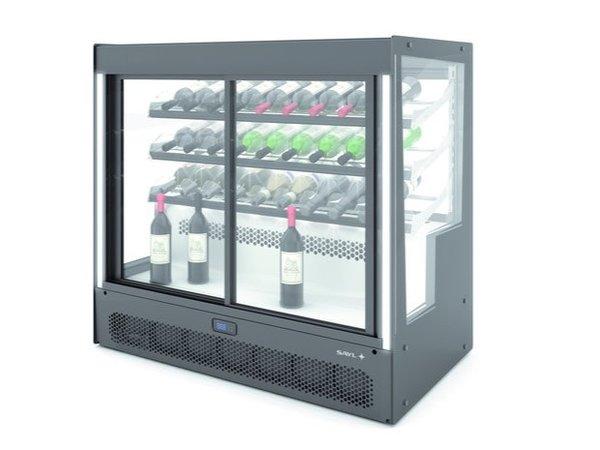 SAYL Rafraîchisseur de Vin Compak | Ouverture Avant et Arrière | 1015x620x(H)950mm