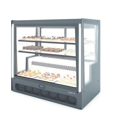 SAYL Vitrine Réfrigérée Compak | Ouverture à l'Arrière | 1015x620x(H)950mm