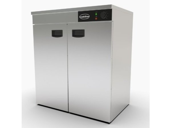 Combisteel Chauffe Assiettes   Inox   AISI 201    90-120 Assiettes   750x485x(H)850mm