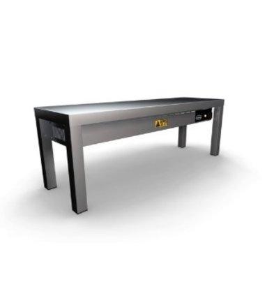 Combisteel Etagère Chauffante en Céramique   300x(H)350mm   1 Niveau   Disponible en 6 Largeurs