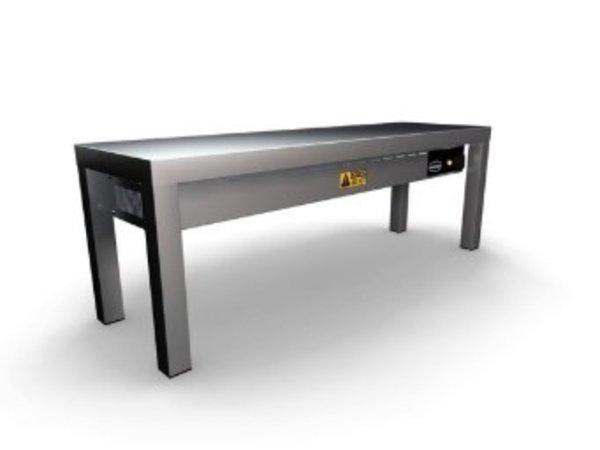 Combisteel Etagère Chauffante en Céramique | 300x(H)350mm | 1 Niveau | Disponible en 6 Largeurs