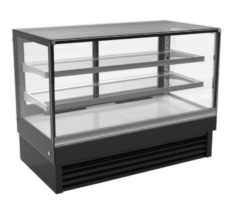 Combisteel Vitrine Réfrigérée | Noire | 324 Litres | 1500x680x(H)1200mm