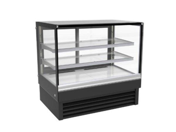 Combisteel Vitrine Réfrigérée | Noire | 257 Litres | 1200x680x(H)1200mm