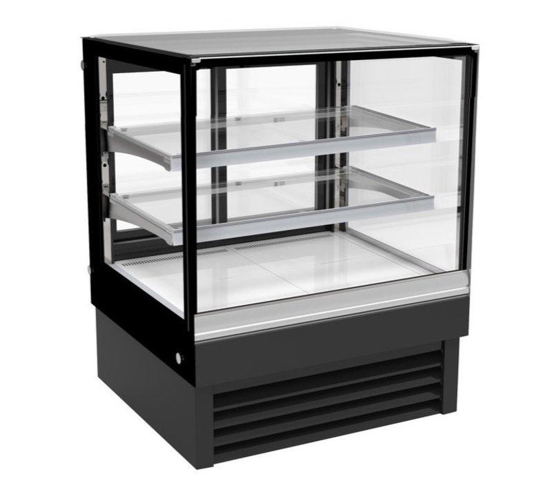Combisteel Vitrine Réfrigérée   Noire   190 Litres   900x680x(H)1200mm