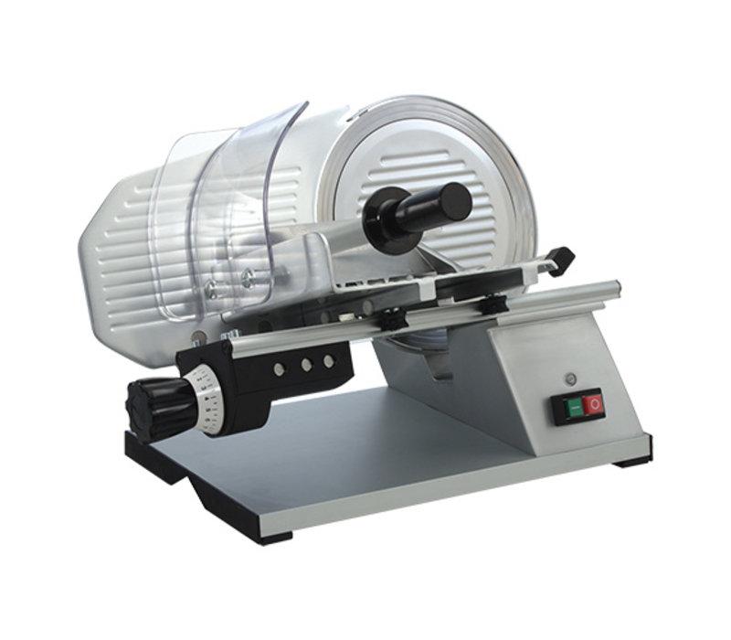 CaterChef Trancheur Electrique Ø250mm | Epaisseur de coupe 0-16mm | 220W | 430x530x(H)380mm