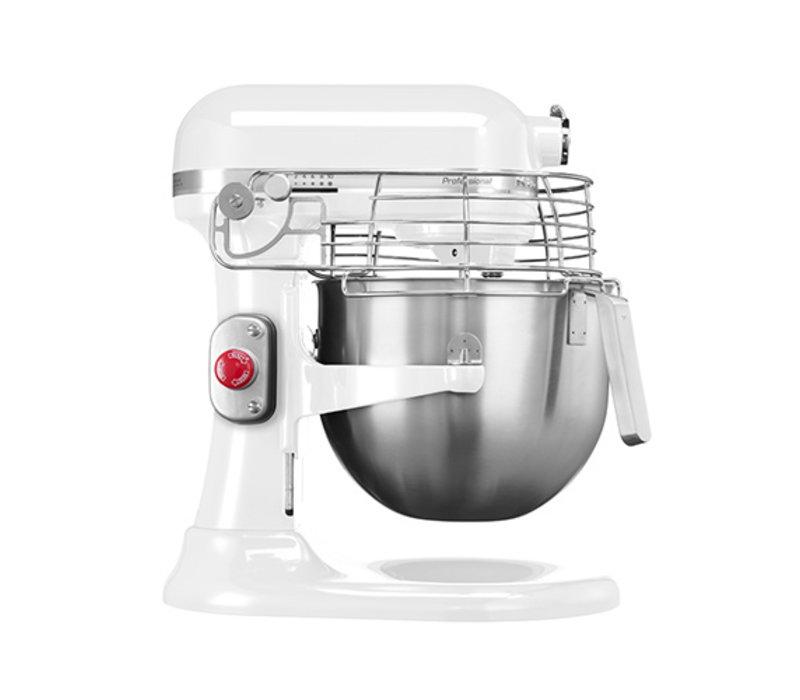 KitchenAid Pétrin Mélangeur  K7 Pro Blanc| 6,9 Litres | 10 Vitesses | 325 Watt