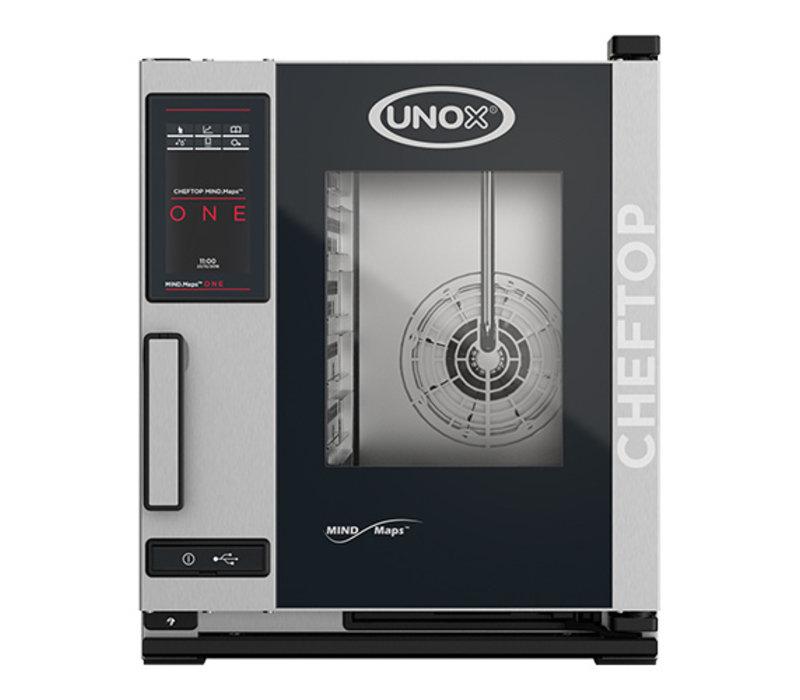 Unox ChefTop MindMaps ONE Compact | XECC-0523-E1L | Poignée Gauche | 5x GN 2/4