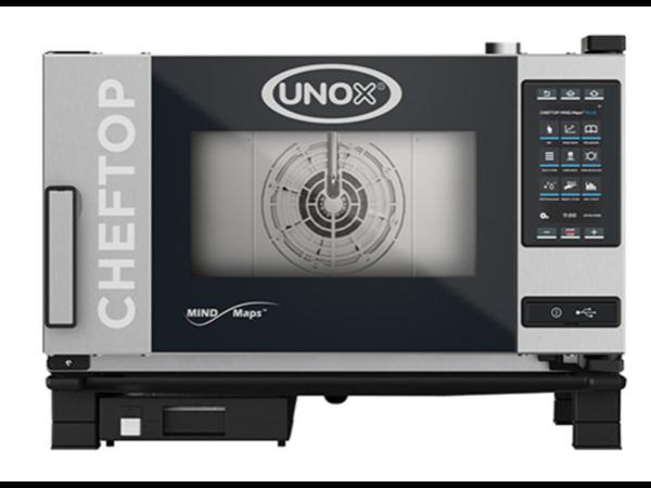 Unox ChefTop MindMaps PLUS | XEVC-0311-EPL |Poignée Gauche| 3x GN 1/2