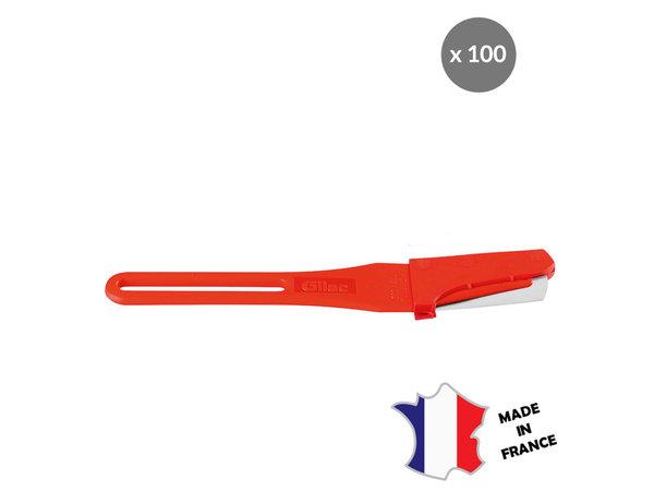 GILAC Scarificateur GILAME® jetable | lame droite | lot de 100