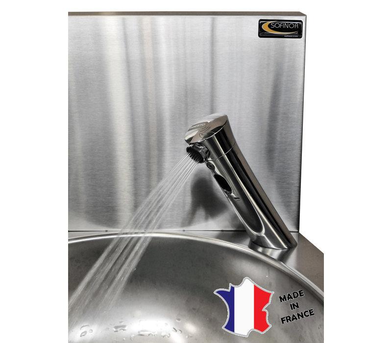 Sofinor Lave-Mains | Cuve Rond | 384(l)x353x524mm | Robinet Electronique