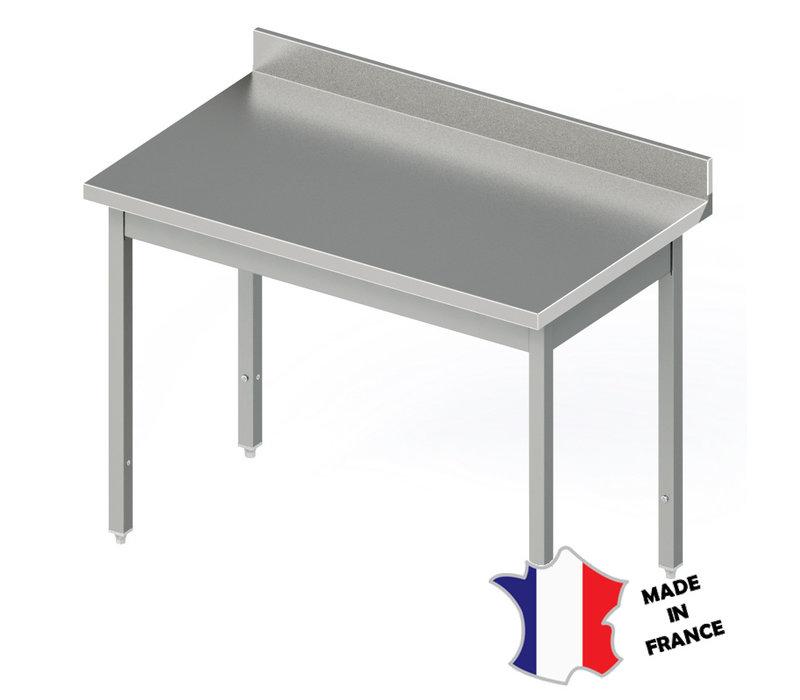 Sofinor Table Démotable | INOX | à Dosseret | Plusieurs Longueurs
