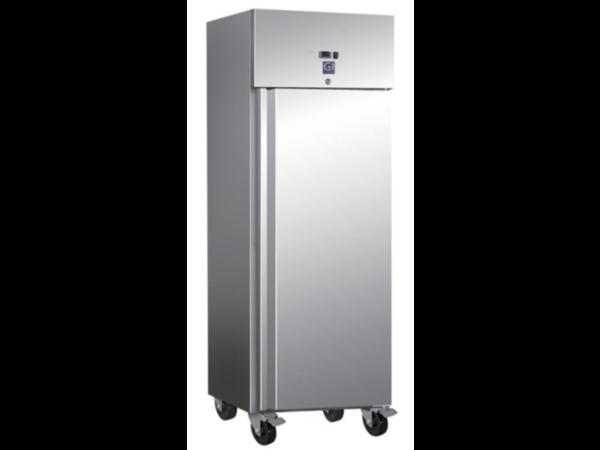 CHRselect Réfrigérateur   Inox   600 L   2/1 GN   4 roues   680x800x (H) 2010mm