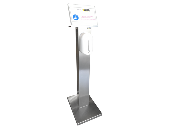 Sofinor Distributeur de Savon Automatique INOX | 525 x 375 x 1409mm