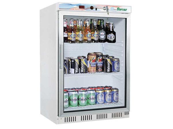 Forcar Armoire Réfrigérée Positive | 200 Litres | Vitrée | 150W | L 600 x P 585 x H 855 mm