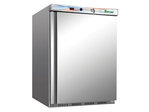 Forcar Armoire Réfrigérée Positive   200 Litres   Inox   150W   L 600 x P 585 x H 855 mm