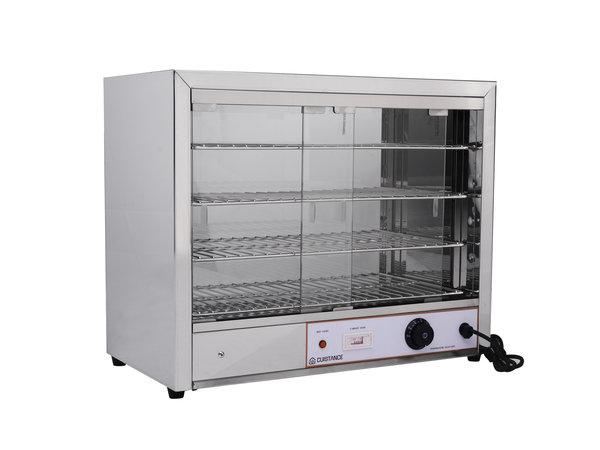 Cuistance Vitrine Chauffante | 1 kW | 640x360x530mm