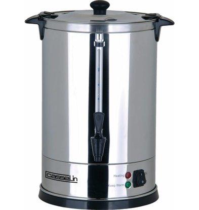 Casselin Percolateur Inox | 8.8 Litres | 60 Tasses | Pas Besoin De Filtres