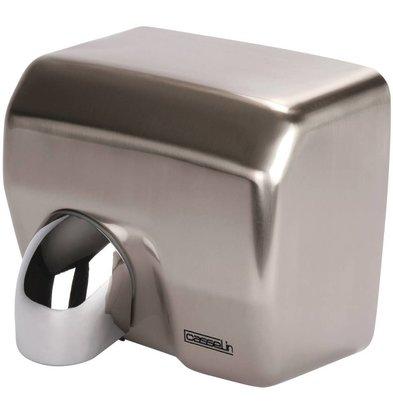 Casselin Sèche-Mains à Bec Inox - Temps De Séchage 15 Sec - 2500W - 270x200x240(h)mm
