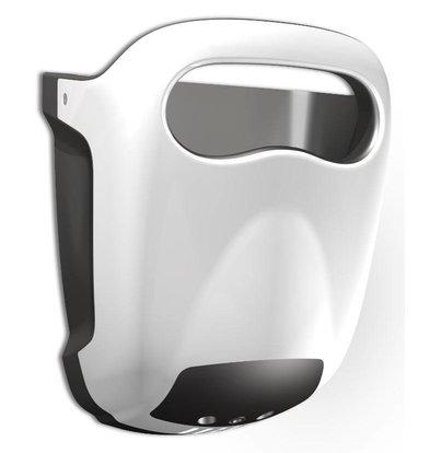Vama Sèche-Mains Hands-in| Blanc | Très Silencieux 60dB - 10 sec - avec Bac d'Égouttage