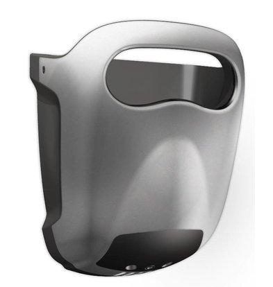 Vama Sèche-Mains Hands-in | Gris | Très Silencieux 60dB - 10 sec - avec Bac d'Égouttage