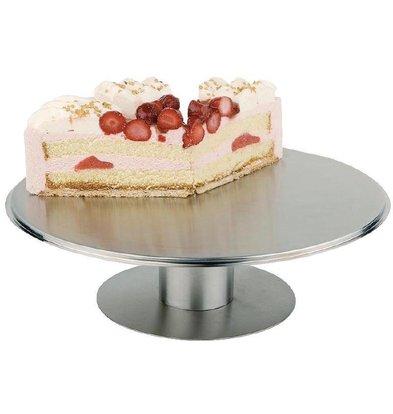 CHRselect Plat à Gâteau Rotatif Inox - APS - Ø300mm