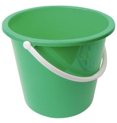 CHRselect Seau En Plastique - Jantex - 10 Litres - Vert