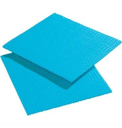 CHRselect Chiffon De Nettoyage Synthétique - Spontex - Bleu - 10 Pièces