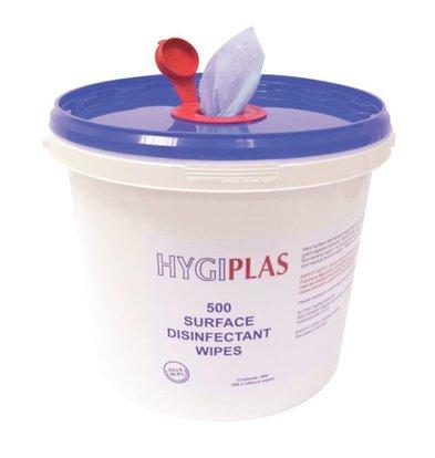 Hygiplas Seau Linguettes Anti-Bactéries - 500 Pièces