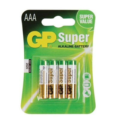 CHRselect Piles AAA - Paquet De 4 Piles