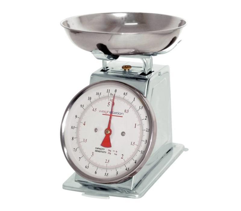 Weightstation Balance de Cuisine Inox | Disponibles en 3 Graduations Différentes