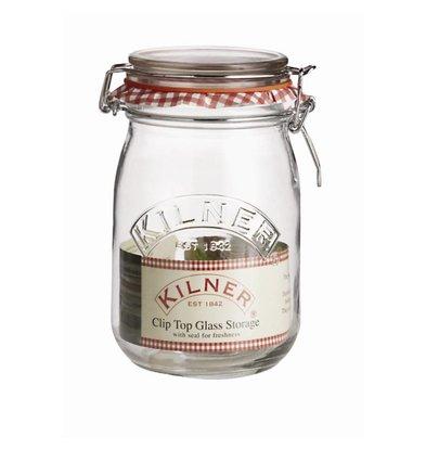Kilner Bocal à Conserve + Clip - Kilner - 1000ml