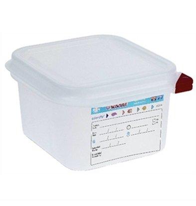 Araven Boîte à Provisions GN 1/6 - Araven - 1,6 Litres - 4 Pièces