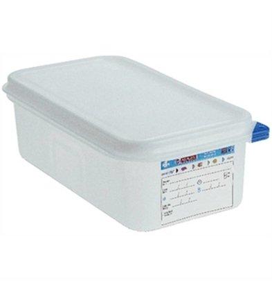 Araven Boîte à Provisions GN 1/4 - Araven - 2,8 Litres - 4 Pièces