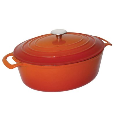 CHRselect Cocotte Ovale Orange - Disponibles en 2 Tailles