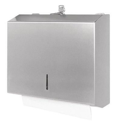 Jantex Distributeur D'Essuie-Mains Inox Satiné - Jantex - 110(P)x260(L)x285(H)mm