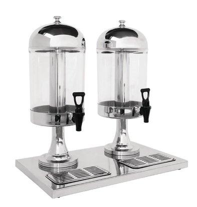 CHRselect Distributeur de Boissons Double | 2x 6,5 Litres | Plastique | 578(h)mm