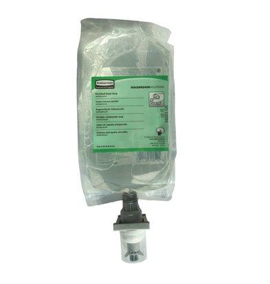 Rubbermaid Sachet Recharge De Savon Mousse Anti-Bactérien - 110ml - 4 Pièces