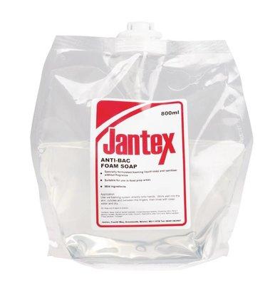 Jantex Savon Mousse Anti-Bactérien Pour Distributeur - Jantex - 6 x 800ml