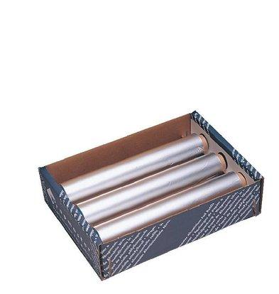 CHRselect Papier Aluminium - Wrapmaster - 450mm x 90mètres - 3 Pièces