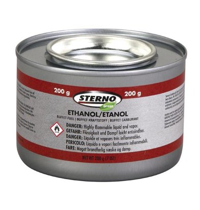 Sterno Gel Combustible Sterno 200g - 2 Heures - 144 Pièces