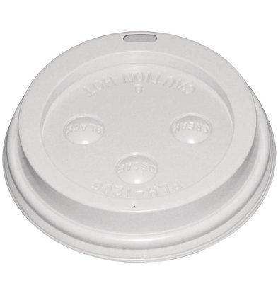 CHRselect Couvercle Pour Gobelets Jetables - 230ml - 50 Pièces